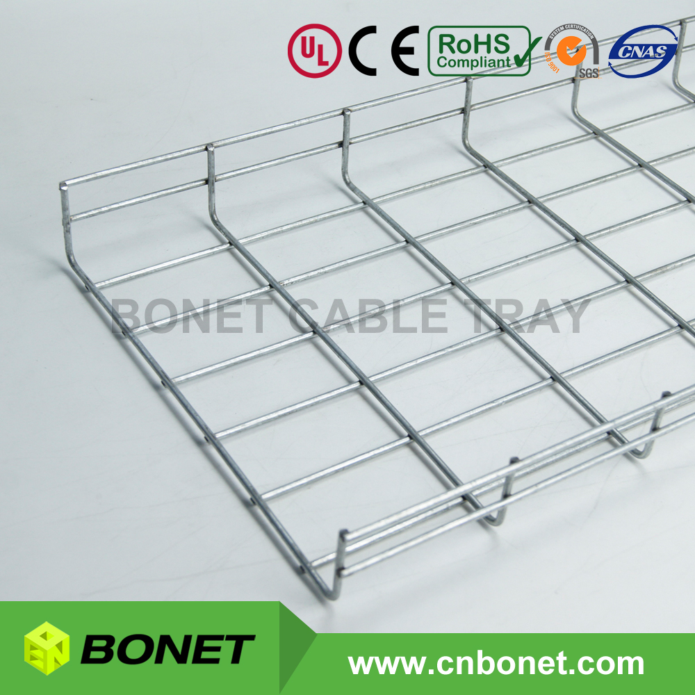 Corrosion Resistance Hot Dipped Galvanized Wire Mesh Cable Tray