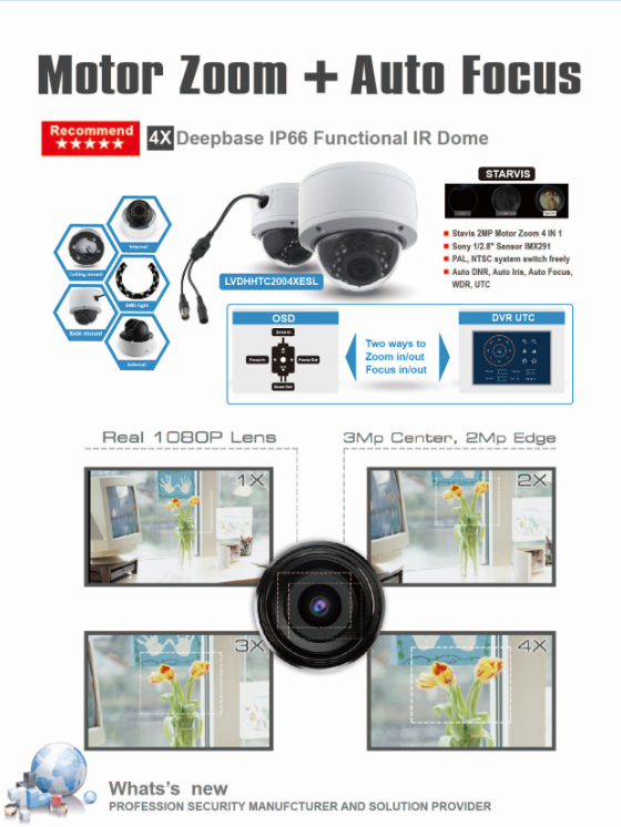 New product cctv camera, cctv hikvision similar housing, night vision infrared, security camera - LDHC20A200