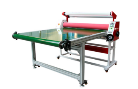 Auto Low Temperature/Cold Flat-bed Laminator PB1350A