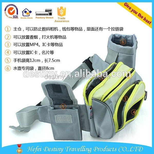 Hot selling practical fashional cheap sports waist pack