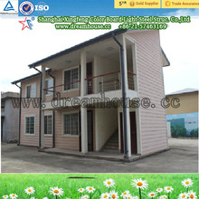 prefabricated houses/modern prefab villa/steel frame modular homes