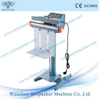 PFS-350 Common Type Aluminum Frame Foot Heat Sealing Sealer Bag Machine
