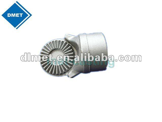 Gray casting part / gray casting with machining