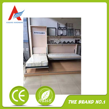easy install metal wood wall bed frame
