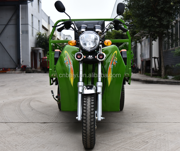 2016 new designed hot sale Cheap 200cc Tuk Tuk cargo three wheel motorcycle In South America