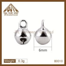 Brass material high quality christmas bell design for baby