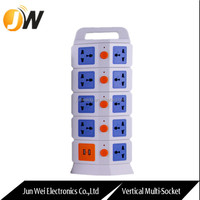 Electrical Outlet Multiple Socket Europe Power Plug Wall Light Switch