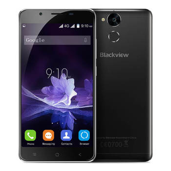 Blackview P2 5.5 Inch FHD Android 6.0 4G LTE Smartphone 4GB RAM 64GB ROM MT6750T 64-Bit Octa core 13.0MP Toch ID