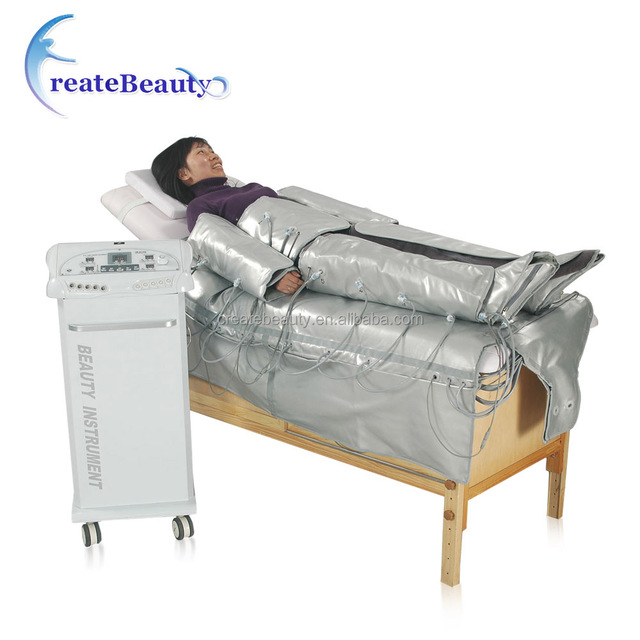 Far infrared Pressotherapy air pressure massage Lymphatic Drainage fast slimming system (/CE)