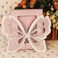2014 New Butterfly Pop Up Wedding Invitation Card