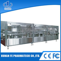 Automatic plastic bottle filling and sealing machine