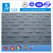 Gothe style modern roof design Eco-friendly building materials 30 years warranty fiberglass base asphalt shingle roof coating