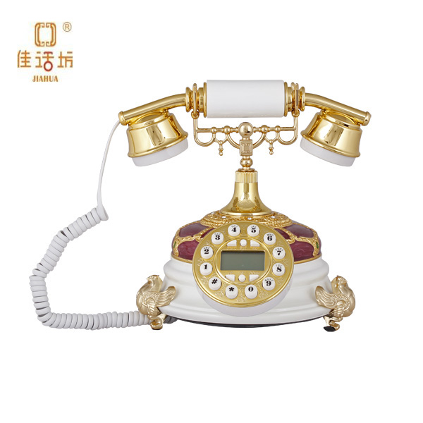 Indoor Home Decorative Crystal Caller ID Telephone for gifts and crafs factory