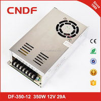 CNDF Mini size 350WDC 12V 29A switching power supply for LED strip light Input 110/220AC