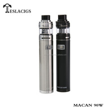 Tesla Macan 90W starter kit easily use unregulated mod