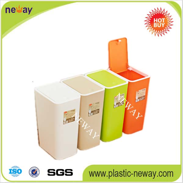 Hot selling Colorful Plastic office dustbin