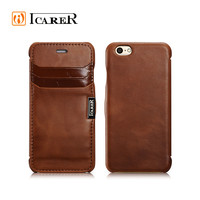 Genuine Leather Cell Phone Case for iPhone 6 Card Slot Flip cover