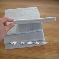 Waste recycled polyester needle punch nonwoven mattress felt pad