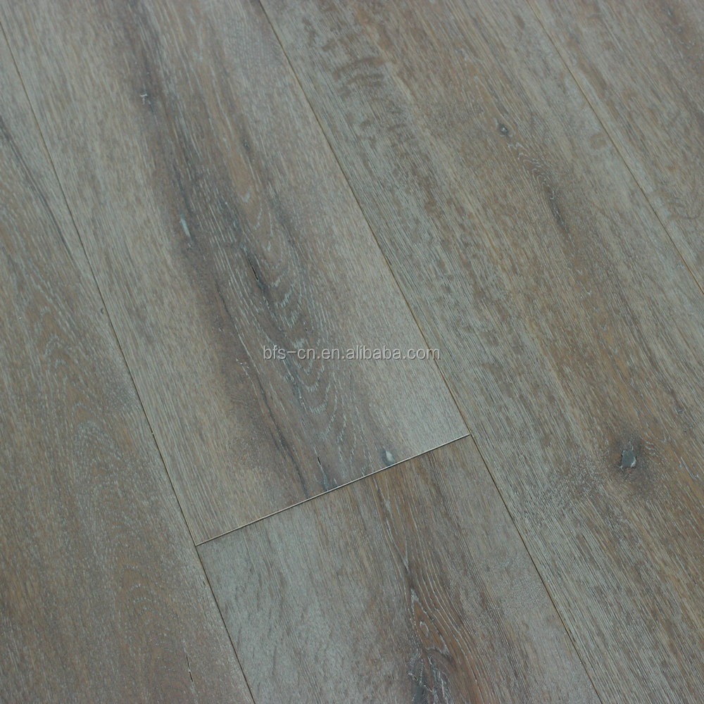 Somked UV Lacquer <strong>Oak</strong> 3 - ply <strong>oak</strong> engineered Wood Flooring