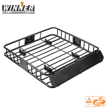 Universal Roof Basket Car Roof Mounted Cargo Rack For SUV Truck Car