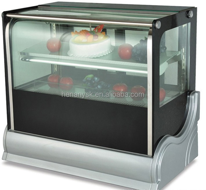 Desktop Refrigerated display Fresh cake cabinets
