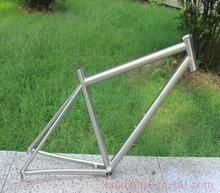 titanium road bike frame with integrated head tube and replaceable dropouts xacd made ti bike frame OEM titanium bicycle frame