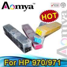 Refillable ink cartridges 970/ 971 for HP Officejet Pro X451dn/X451dw/ X476dn/X476dw/X551dw/X576dw /