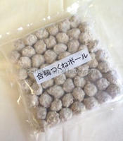 Frozen Cooking Steamed Duck MeatBall with Nori or Purple Perilla