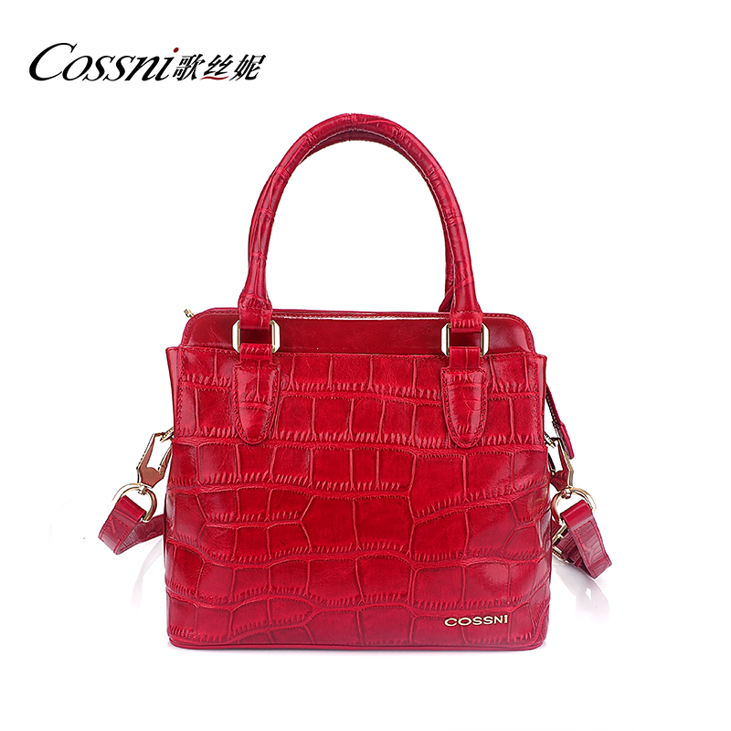 Fashion 100% Genuine Leather Bags Crossbody Shoulder Bag Authentic Designer Bags Crocodile Handbag Wholesale Ladies Handbags