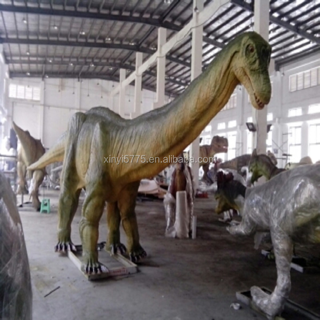 Amusement park simulation dinosaur life-size artificial dinosaur for sale