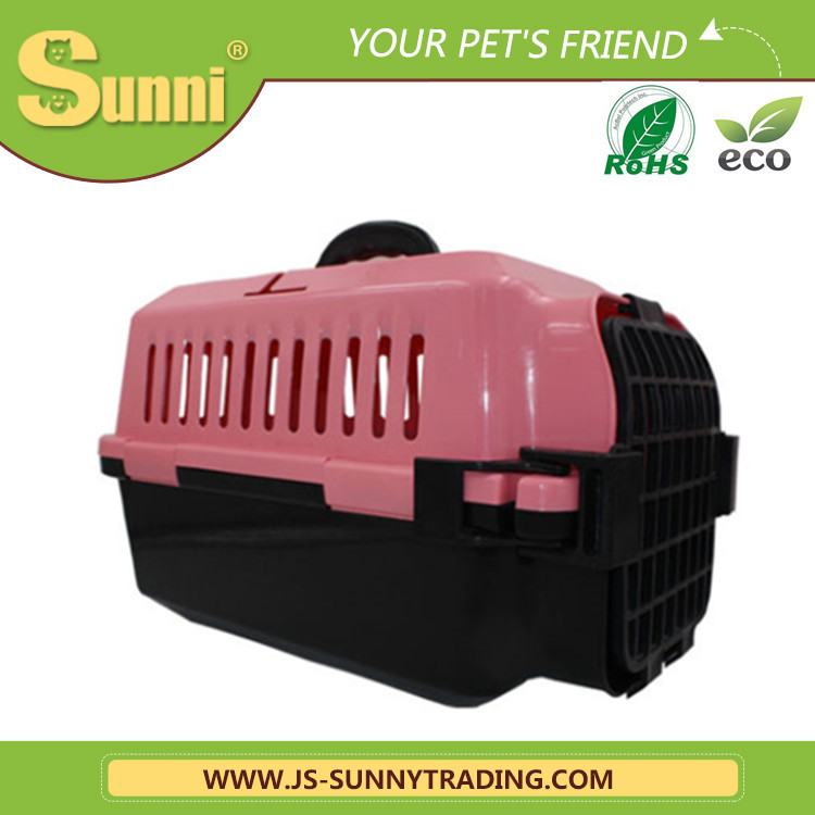 Pink cage factory wholesale pet carrier