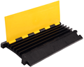 Heavy Duty 5 channel Rubber Protector de Cable Cover Ramp