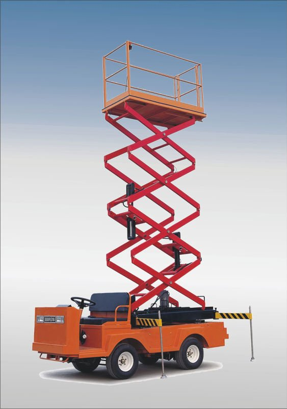electric scissor lift,electric cargo truck,Electric Industrial Vehicle, EG6060J