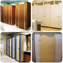 waterproof phenolic partition toilet partition with bathroom accessory