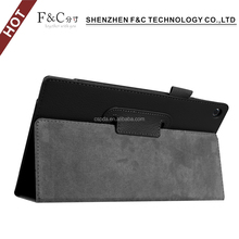 Folding Leather Case Cover Skin For Amazon Kindle Fire Hd 8,High Quality Tpu For Kindle Fire Hd 8.0 Tpu Phone Case