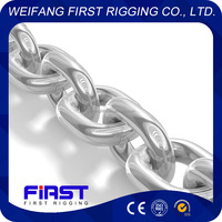 galvanized twisted link chain