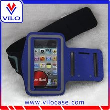 custom elastic neoprene sport velcro armbands for iphone 5 free sample