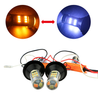 led 1156 switchback led white amber turn signal lights for car accessories