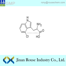 2-amino-3-(4-chloro-1H-indol-3-yl)propanoic acid China Manufacturer CAS118244-93-2