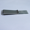 factory directly sale stainless iron pu money clip/money clip wallet