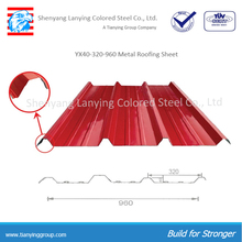 RAL color metal roofing galvanized corrugated steel sheet for rooing