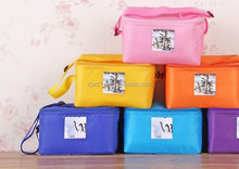 2015 cheap fashion custom make up cooler bag