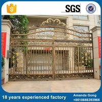 New Design And Fashion Driveway Gates Electric Cost
