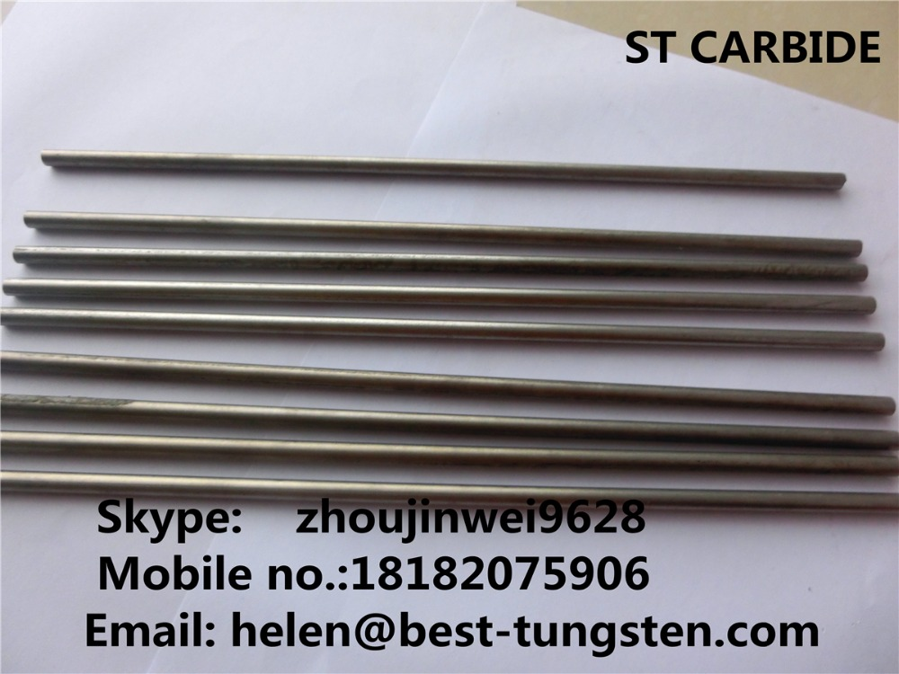 <strong>K10</strong>/K20/K30/K40 solid <strong>cemented</strong>/tungsten <strong>carbide</strong> rod/round bar/welding/brazing rod blanks