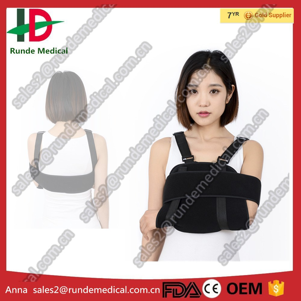 orthopedic medical arm sling,fracture arm brace,back posture shoulder support brace