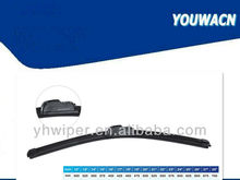 Motorcycle windshield wiper blade