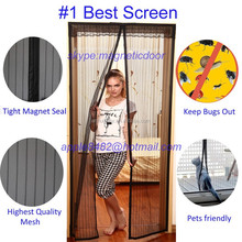 90*210cm/100*220cm magnetic insect/fly curtains