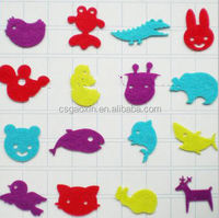 nonwoven felt sticker for christmas decoration