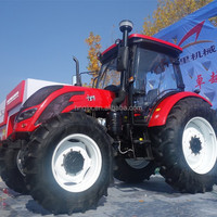 140hp 4wd powerful farm tractor low price good engine tractor