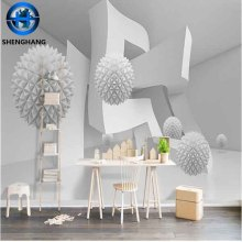 3D Wall Decorations Ceramic Materials Platinum crystal Surface High Quality Ceramic 3D Tile